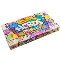 Wonka Rainbow Nerds (lot de 6)