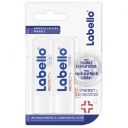 Labello Stick Lèvres Protect+ SPF15 Duo (lot de 3 soit 6 sticks)