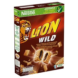 Nestlé Céréales Lion Wild (lot de 6)