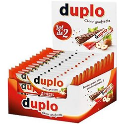 Duplo Choco Gaufrette (lot de 6)