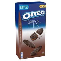 Oreo Crispy Thin Crème Chocolat (lot de 6)