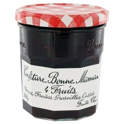 Confiture Bonne Maman 4 Fruits (lot de 10 x 6 pots)