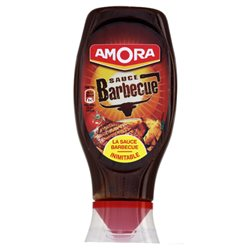 Amora Sauce Barbecue (lot de 10 x 3 flacons)