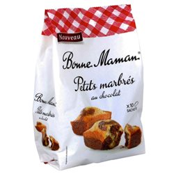 Bonne Maman Petits Marbrés Chocolat (lot de 10 x 3 paquets)