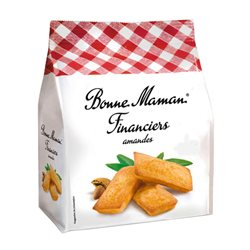Bonne Maman Financiers Amandes (lot de 10 x 3 paquets)