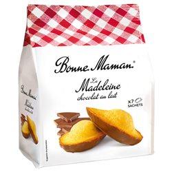 Bonne Maman Madeleine Chocolat (lot de 10 sachets de 10 gâteaux)