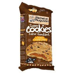 Michel et Augustin Super Cookies Pralinés Amandes Grillées (lot de 10 x 3 paquets)