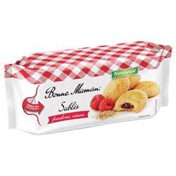 Bonne Maman Sablés Framboise (lot de 10 x 3 paquets)