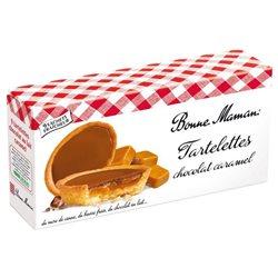 Bonne Maman Tartelettes Chocolat Caramel (lot de 10 x 3 paquets)