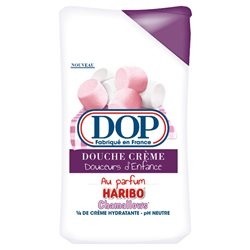 DOP Gel Douche Parfum Haribo Chamallows (lot de 10 x 3 flacons)