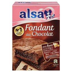 Alsa Préparation Fondant au Chocolat (lot de 6)