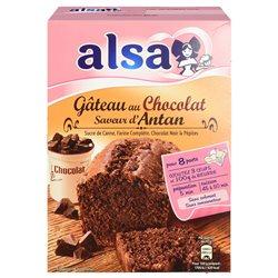 Alsa Préparation Gâteau Chocolat D'Antan (lot de 6)