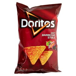 Doritos Tortillas Barbecue Style 170g (lot de 10 x 3 paquets)
