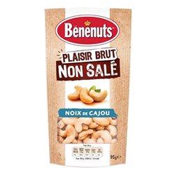 Bénénuts Noix de Cajou Plaisir Brut 95g (lot de 10 x 3 paquets)