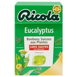Ricola Eucalyptus (lot de 10 x 6 boîtes)