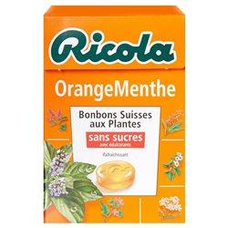 Ricola Orange Menthe (lot de 10 x 6 boîtes)
