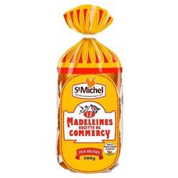 St Michel Madeleines de Commercy Pur Beurre 300g (lot de 10 x 3 sachets)