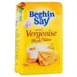 Béghin-Say Saveur Vergeoise Blonde Nature 500g (lot de 10 x 3 paquets)