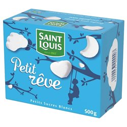 Saint Louis Petit Rêve Petits Sucres Blancs 500g (lot de 10 x 3 paquets)