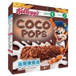 Coco Pops Barre Riz Soufflé au Chocolat au Lait 120g (lot de 10 x 3 boîtes)