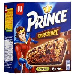 Prince Barre au Chocolat 125g (lot de 10 x 3 boîtes)