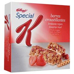 Special K Barre Céréales Fruits Rouges 129g (lot de 10 x 3 boîtes)