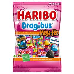 Haribo Méga-Fête Dragivampires (lot de 6)