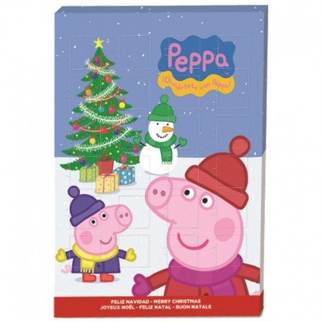 Calendrier De l'Avent Peppa Pig 65g (lot de 3)