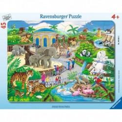 Ravensburger Puzzle cadre 30-48 pièces - Visite au zoo