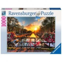 Ravensburger Puzzle 1000 pièces - Vélos à Amsterdam