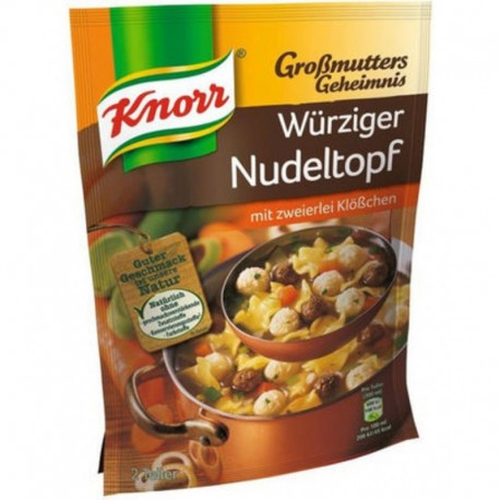 Knorr Wurziger Nudeltopf (carton de 9)