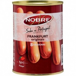 Nobre Saucisses Frankfurt 200g (lot de 12)