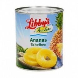 Libby's 490g Ananas en Tranches 490g (carton de 6)