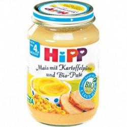 Hipp Nach 4 Monat Mais & Kartoffelpüree und Pute 190g (carton de 6)