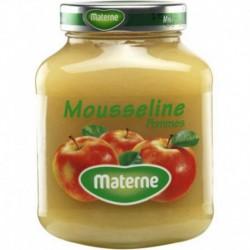 Materne Mousseline Pommes 375g (lot de 8)