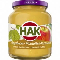 Hak Mousseline De Pommes 355g (lot de 12)