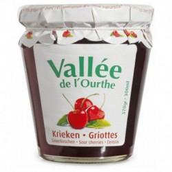 Vallée de l'Ourthe Confiture Cerises Griottes 370g (lot de 8)