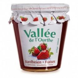 Vallée de l'Ourthe Confiture Fraises 370g (lot de 8)