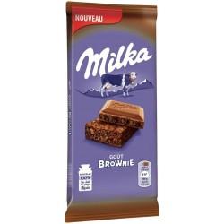 Milka Goût Brownie 200g (lot de 3)