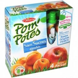 Pom'Potes Pomme Abricot