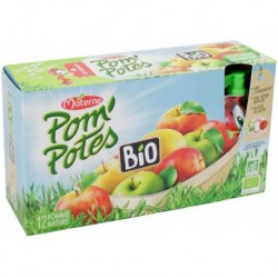 Pom'Potes Pomme Nature Bio XL