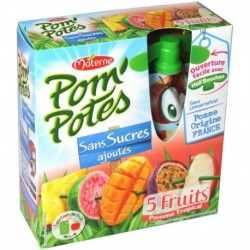 Pom'Potes 5 Fruits Tropical