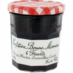 Confiture Bonne Maman 4 Fruits (lot de 6)