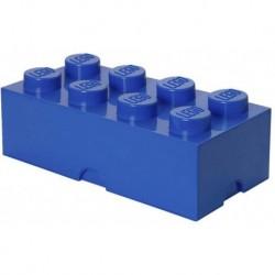 LEGO Storage Brick Boîte de Rangement bleu x8