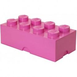 LEGO Storage Brick Boîte de Rangement rose x8
