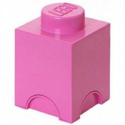 LEGO Storage Brick Boîte de Rangement rose x1