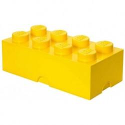 LEGO Storage Brick Boîte de Rangement jaune x8