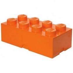 LEGO Storage Brick Boîte de Rangement orange x8