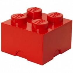 LEGO Storage Brick Boîte de Rangement rouge x4