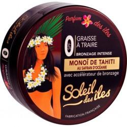 Soleil Des îles Graisse à Traire Bronzage Intense SPF 0 Parfum Des Îles (lot de 3)